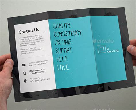 business brochure 9 trifold business brochures design templates free premium templates