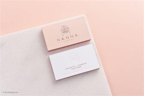 rose gold foil business card templates rockdesigncom