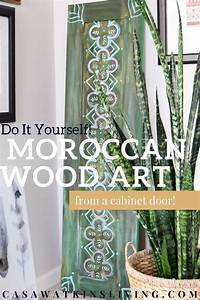 moroccan wood art perfect for global boho style spaces With best brand of paint for kitchen cabinets with decorative moroccan wall art