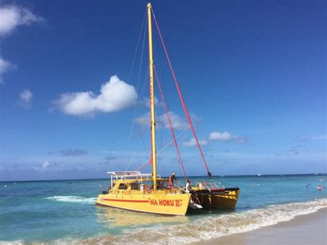 Catamaran Trips In Honolulu by Fun For All Ages Picture Of Na Hoku Ii Catamaran