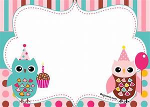 FREE Printable Owl Birthday Invitation – Bagvania FREE