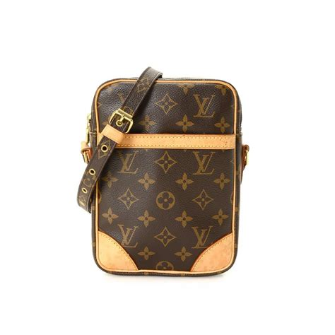 louis vuitton danube  monogram coated canvas lxrandco pre owned luxury vintage