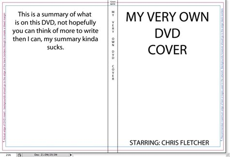 Publisher Dvd Cover Template by Dvd Cover Size Cover Dudes