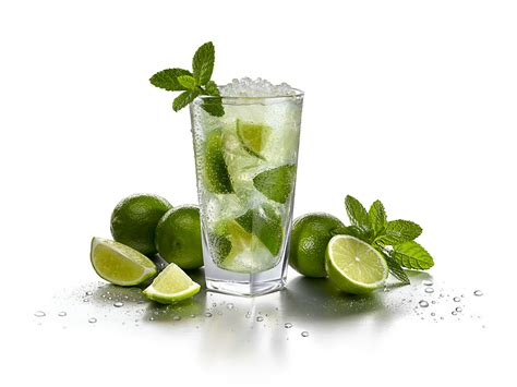 photo cuisine avec ilot central le mojito en 3 minutes chrono cocktail au rhum et citron