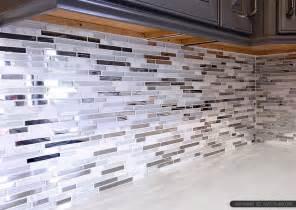 black glass tiles for kitchen backsplashes 5 modern white marble glass metal kitchen backsplash tile