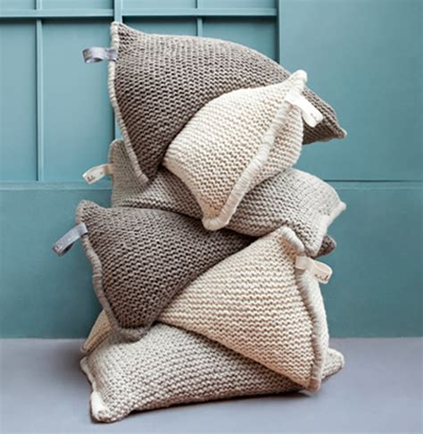 knitted bean bags design