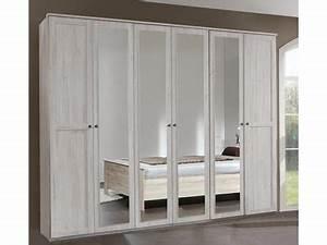 Armoire 6 Portes : armoire 6 portes chalet chene blanc ~ Teatrodelosmanantiales.com Idées de Décoration