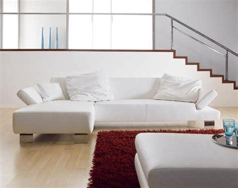canapé profond canapé cuir design d angle 4 places chaise longue