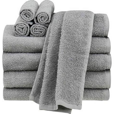 cotton bath towel towels wash cloths soft bath sheets 10 grey ebay