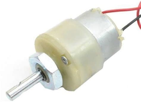 Gear Motor by Kimaginations 200 Rpm 12v Dc Center Shaft Gear Motor Price