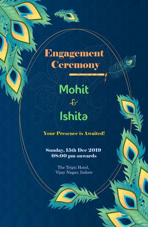 mohit  ishitas engagement ceremony engagement