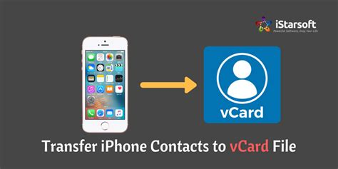 vcf to iphone two ways to transfer iphone contacts to vcf vcard