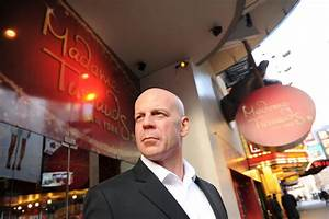 Bruce Willis Wax Figure Unveiling At Madame Tussauds New ...