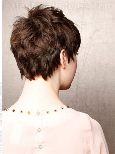 Back View Of Pixie Hairstyles by 60 Stylist Back View Pixie Haircut Hairstyle Ideas