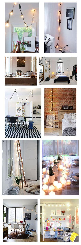 best 25 indoor string lights ideas on string