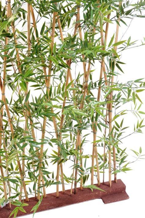 haie artificielle bambou japanese plastique uv int 233 rieur ext 233 rieur h 150 cm vert