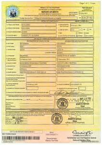 NSO Philippines Birth Certificate