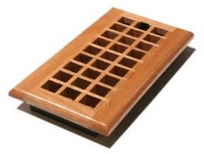 4x10 natural oak lattice floor register wood lattice