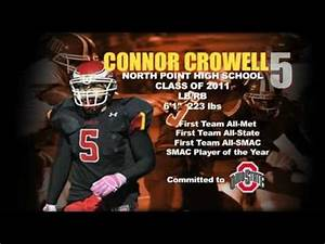 CONNER CROWELL 2010 Football Highlights - North Point High ...