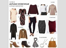 How to create an autumn workwear capsule wardrobe