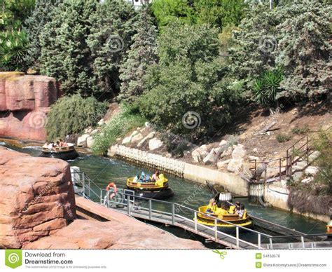 attractions de l eau dans le port aventura espagne de parc photo stock image 54150578