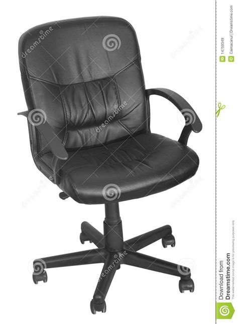 black office chair with wheels royalty free stock images