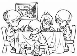 Family praying     pre...