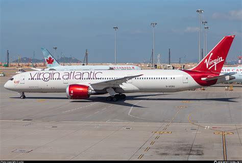 vcru virgin atlantic airways boeing   dreamliner photo  lusu id