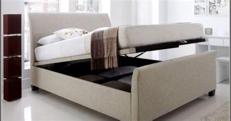 hydraulic storage bed   version  king storage bed