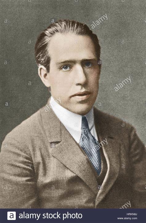 Niels Bohr, Danish Physicist Stock Photo, Royalty Free