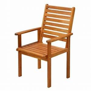 Fauteuil Jardin Bois : chaise de jardin chez but ~ Teatrodelosmanantiales.com Idées de Décoration