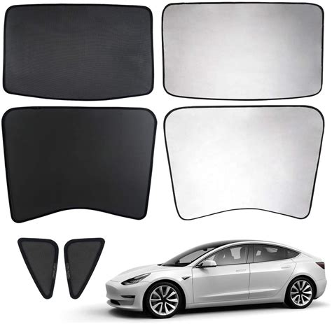 Download Tesla 3 Roof Shade Pictures