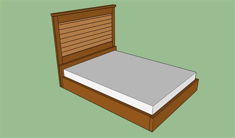 build  wooden bed frame howtospecialist