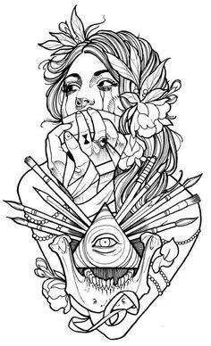 18 mejores imágenes de tatoo en 2019 | Dibujos de tatuajes, Tatuajes geniales y Arte y diseño