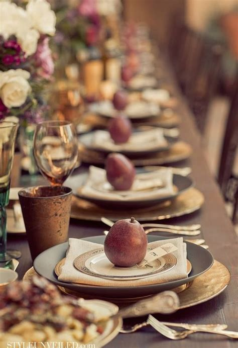 beautiful thanksgiving tablescapes liz marie blog