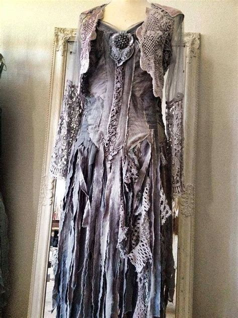 reserved  brooke black goth dress witches dress
