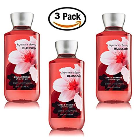 japanese cherry blossom shower gel body wash set of