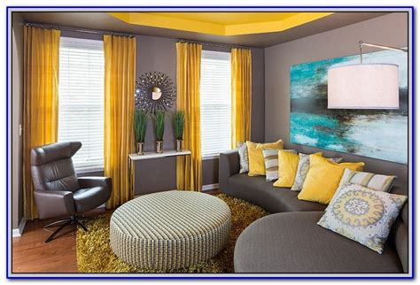 paint colors that go with yellow painting home design