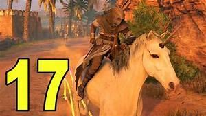Assassin's Creed Origins - Part 17 - GOT A UNICORN 😂 - YouTube