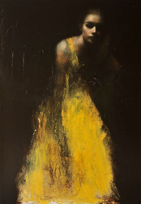 Melancholic paintings and drawings by Mark Demsteader - Bleaq