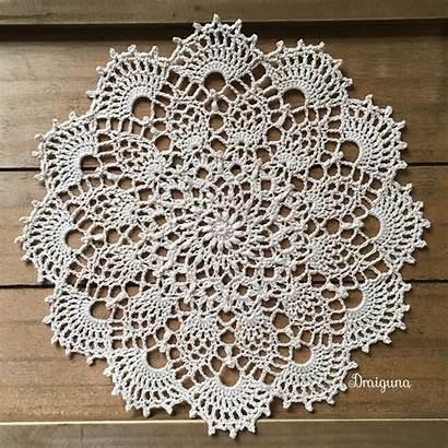 Patterns Doily Crochet Written Instructions Draiguna Tutorial
