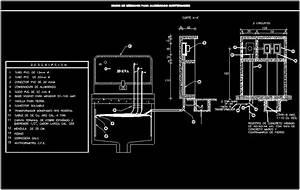 Underground Meter Housing Niche Dwg Block For Autocad