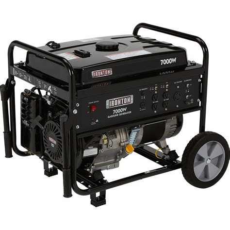 Generator Tool by Ironton Portable Generator With Wheel Kit 7000 Surge