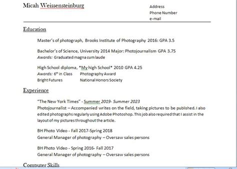 how to write a resume 5 steps with pictures
