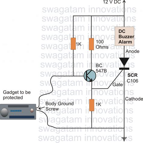 Simple Scr Based Application Circuits Homemade Circuit
