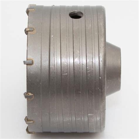 bohrkrone 100 mm hm bohrkrone 216 100 mm lochs 228 ge dosenbohrer f 252 r beton mauerwerk naturstein ebay