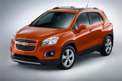 List Of Crossover Suvs by 2015 Chevrolet Trax Front Side View Wheel Turned Photo 40