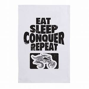 "Brock Lesnar ""Eat, Sleep, Conquer, Repeat"" Sports Towel ..."