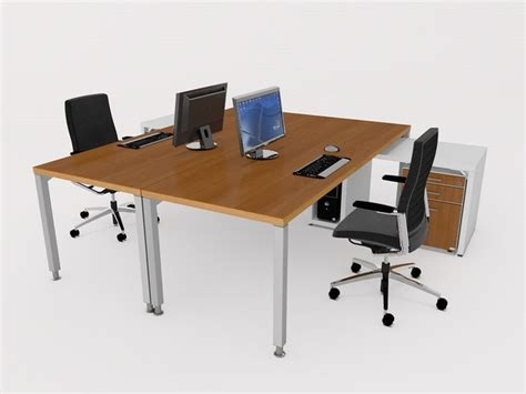 3d Accessories Office Desk Cgtrader