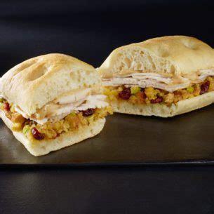 holiday turkey stuffing panini starbucks coffee company